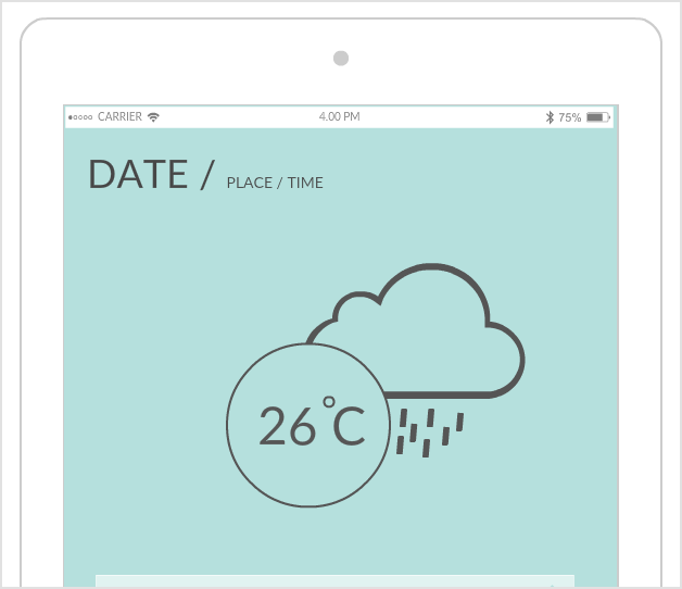 iPad Mockup Tool to Quickly Creately iPad App Wireframes | Creately