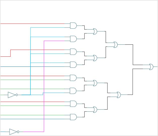 logic gate software logic gate tool create logic gates online rh creately com  logic gate diagram creator online