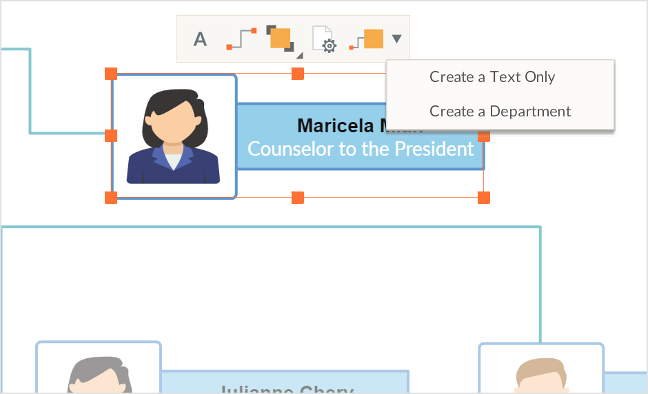 our powerful productivity features make drawing org charts extremely simple with our 1 click create and connect feature check the image to the right you - Draw Organizational Chart