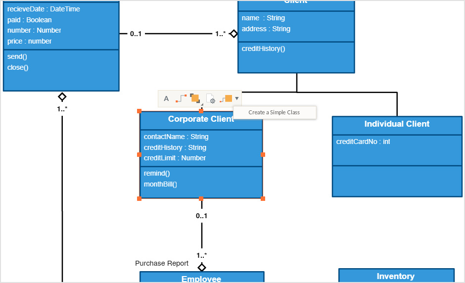draw uml diagrams faster using our uml specific features - Online Uml Diagram Creator