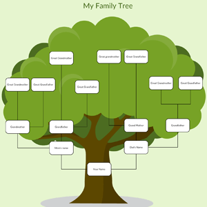 free family tree maker for kids