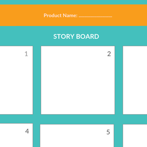 Storyboard Template 1