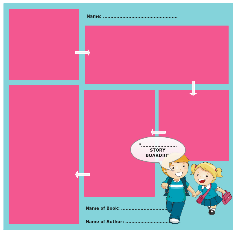 Storyboard Template 4