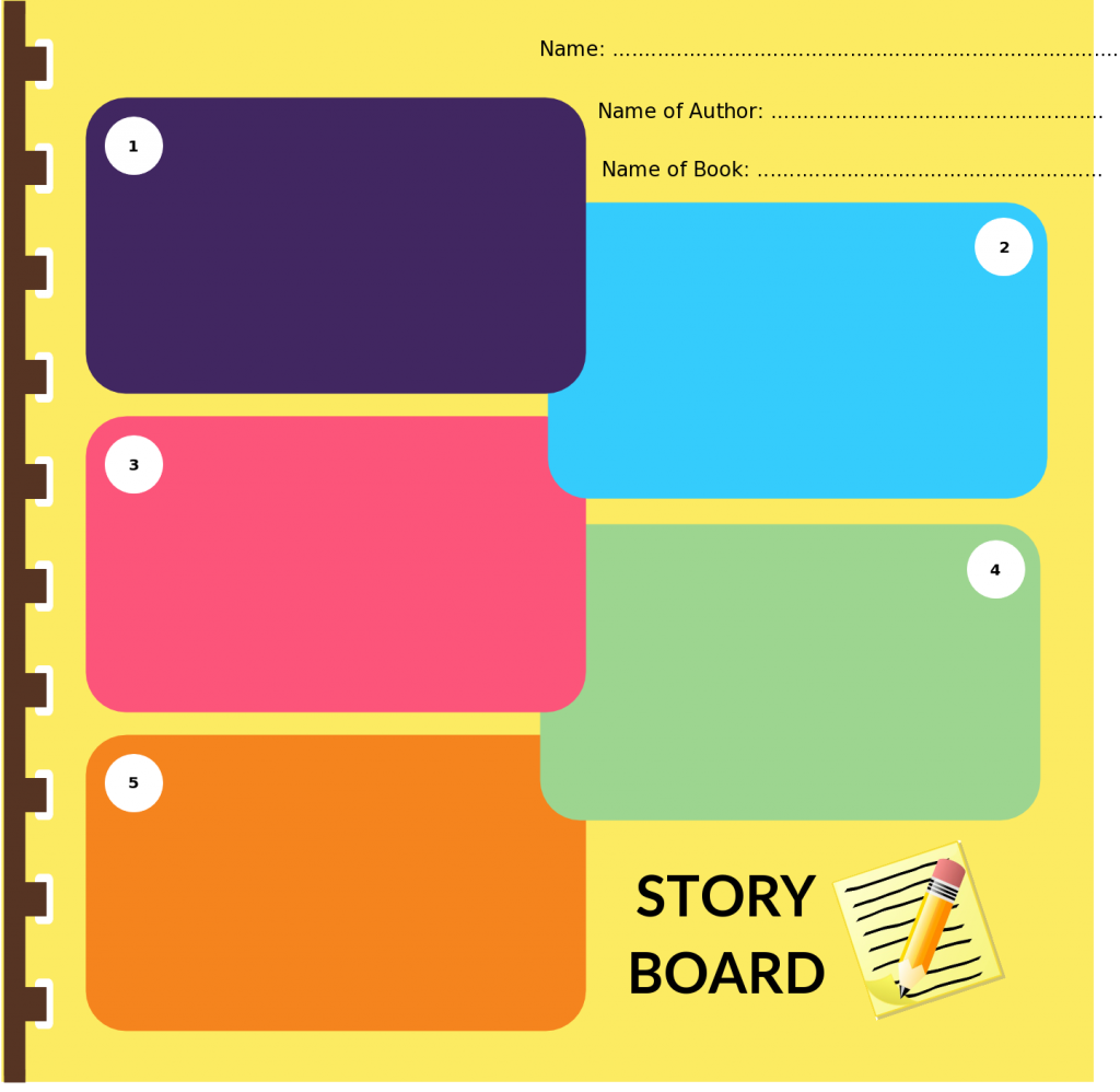 Storyboard templates with unique designs for kids and general usage storyboard templates to translate an idea saigontimesfo