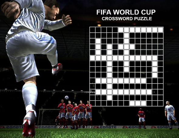 football world cup crossword puzzle