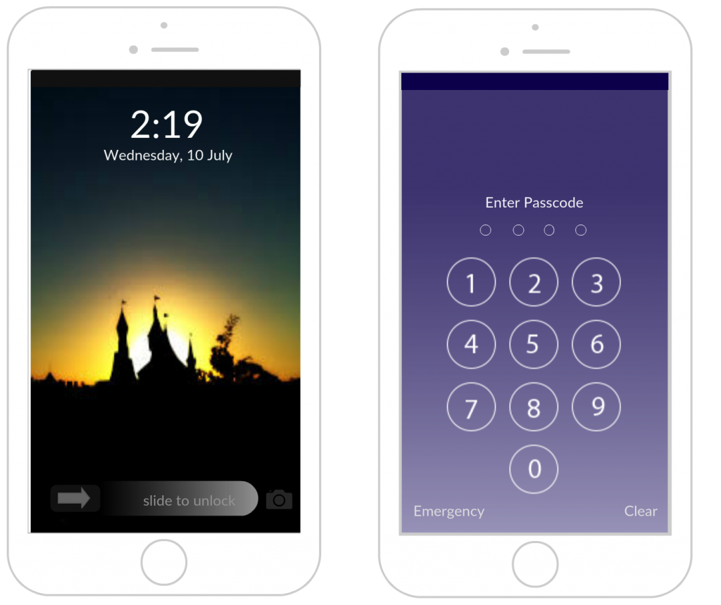 Iphone Mockup Templates To Design Iphone Applications