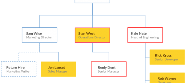 An organizational chart to manage your company's growth