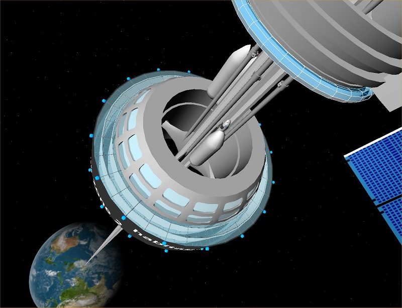 Space elevator to visit space without rockets