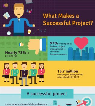 Reasons why projects succeed