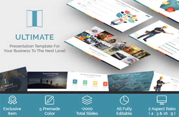 Ultimate - business presentation template