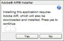 Install Adobe AIR to download Creately Desktop