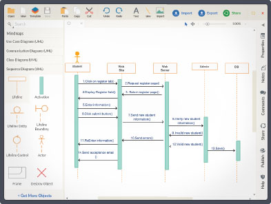 create sequence diagrams online   sequence diagram tool