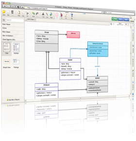 Create Class Diagrams Online with Creately ( UML )