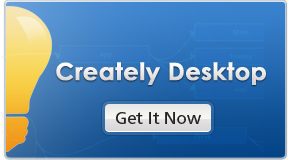 Creately for desktop