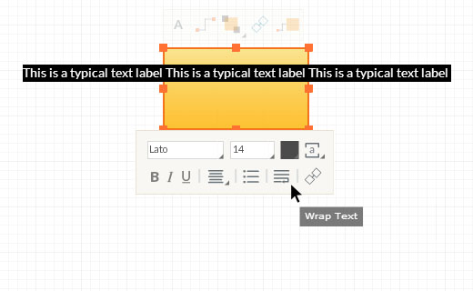 Edit Text Toolbar - Unwrap Text