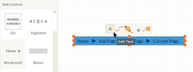 Click to edit Breadcrumb Items