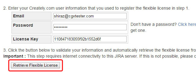 Retrieve your purchased Creately for JIRA Plugin