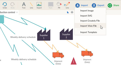 Easily Import Existing Visio Files