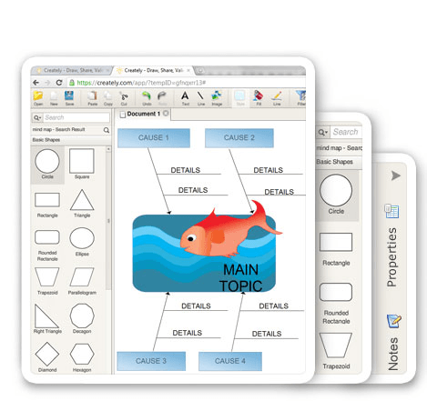 Web-based Graphic Organizer Software