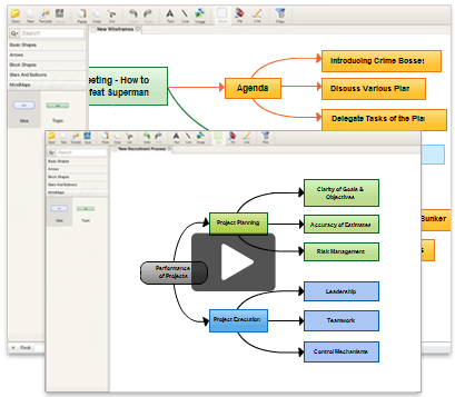 Mind mapping software create mind maps online creately for Building mapping software