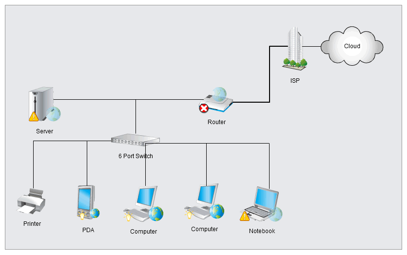Information About Simple Computer Network Diagram Yousensefo