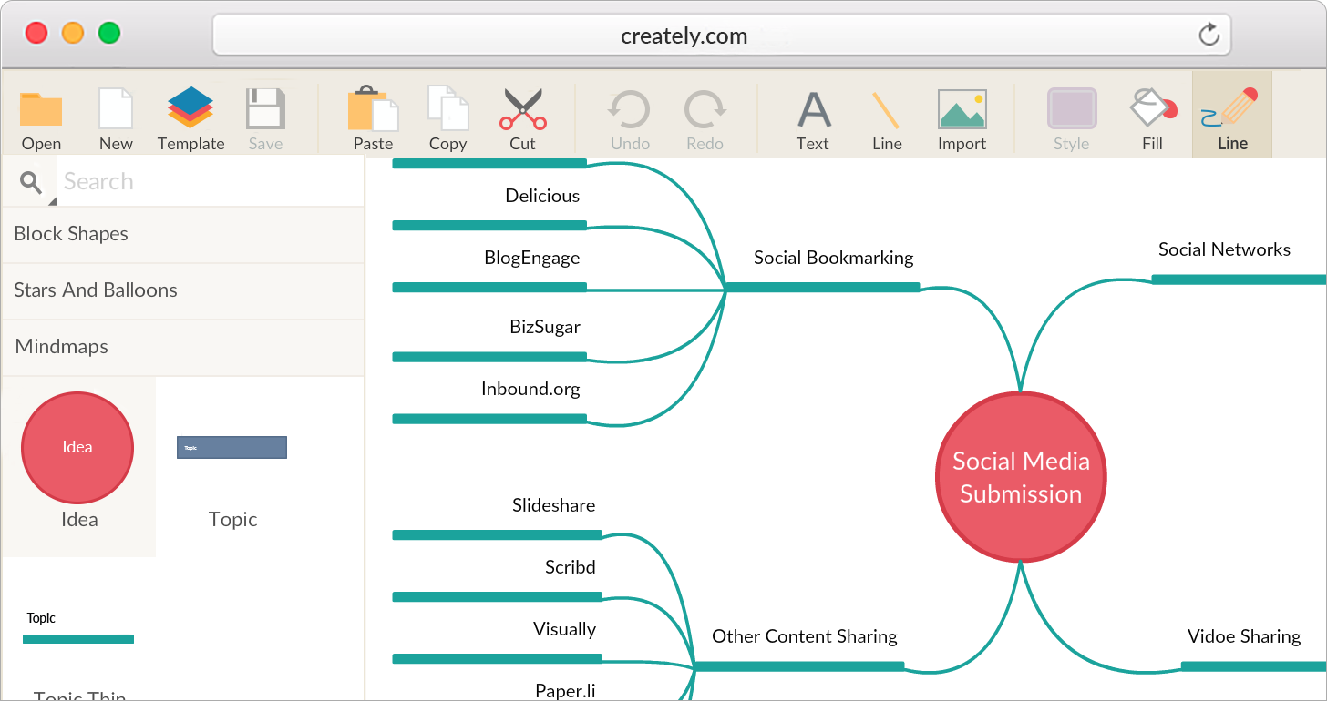 Mind Mapping Software Create Mind Maps Online Creately